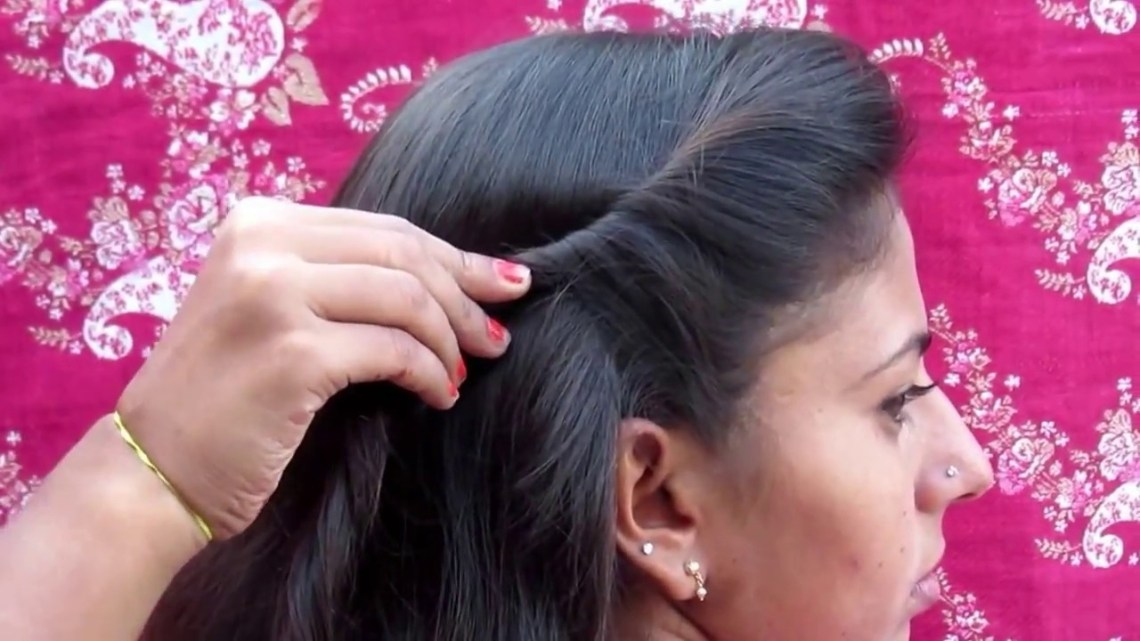 Everyday Hairstyle || Collage Girls Hairstyle 10+ Amazing Tamilnadu Hairstyles For Medium Hair