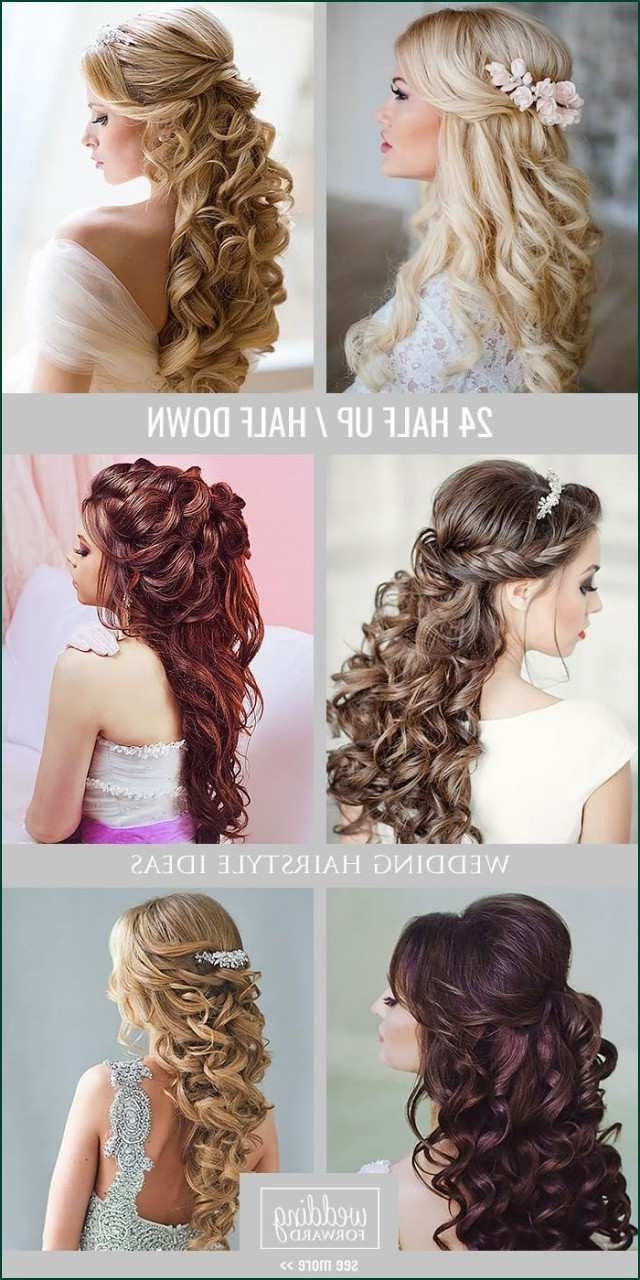 How To Do Half Up Half Down Hairstyles Awesome Wedding Medium Length Half Up Half Down Hairstyles