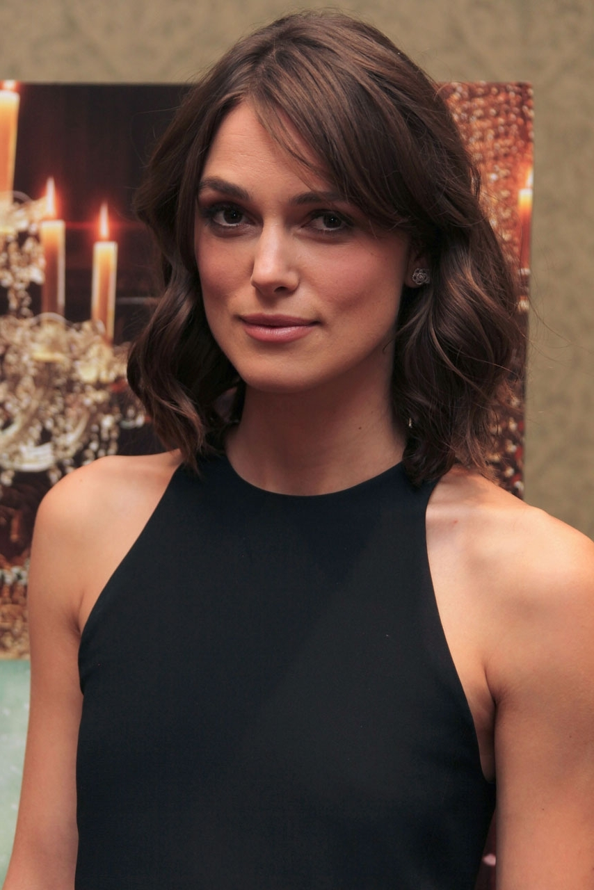 Keira Knightley On What 'Pisses Her Off' 30+ Adorable Keira Knightley Medium Hairstyles