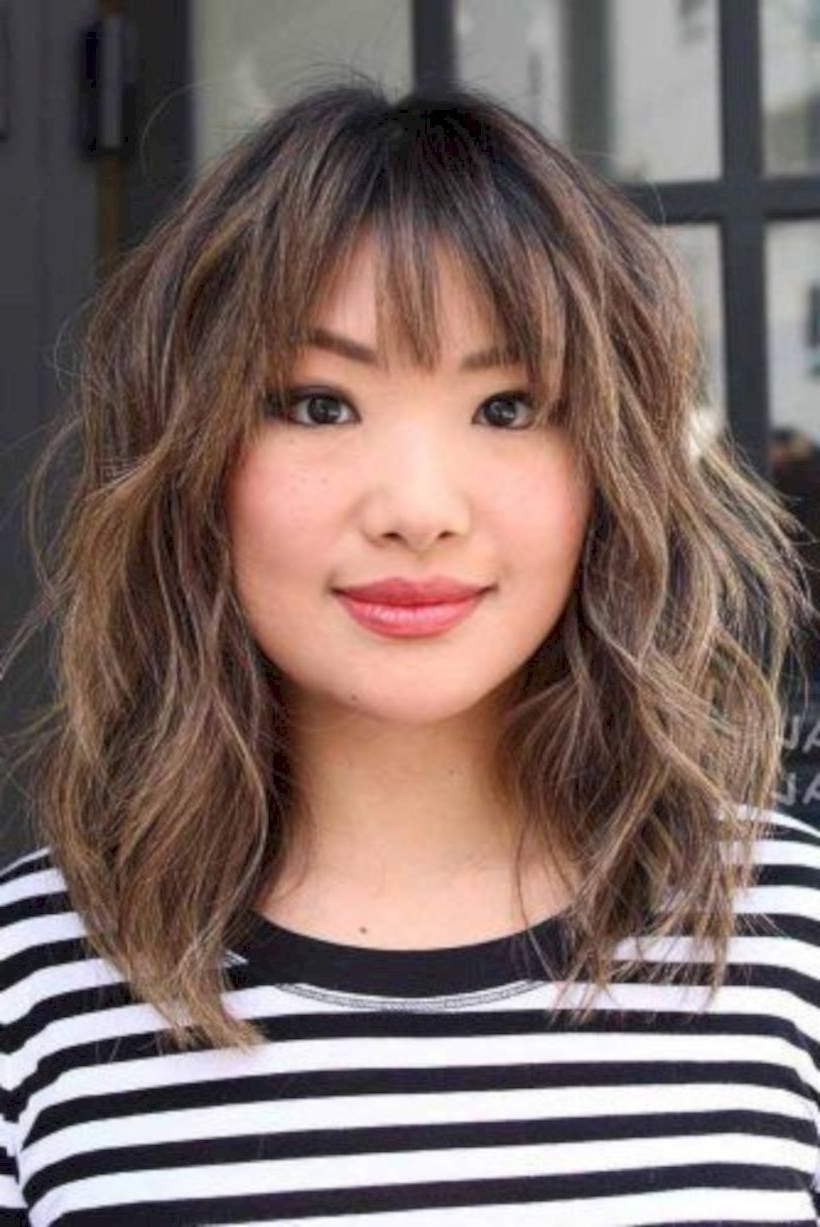 Modern Medium Hairstyles With Bangs For A New Look 17 Medium Hairstyles With Fringe Bangs