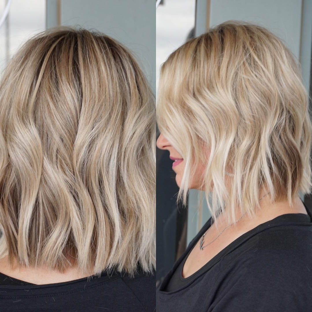 Most Popular Wavy Haircuts For Medium Length Hair, Medium 40+ Cute Popular Medium Hairstyles 2018