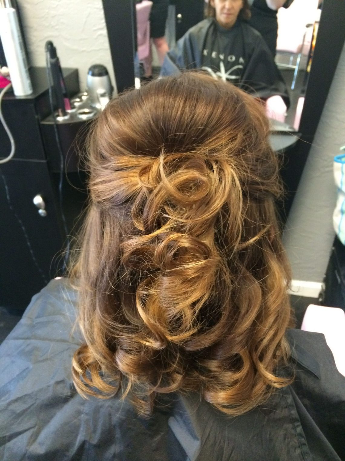 Mother Of The Bride Hair. Half Up Half Down. Medium Length 40+ Adorable Hairstyles For Mother Of The Bride Medium Hair