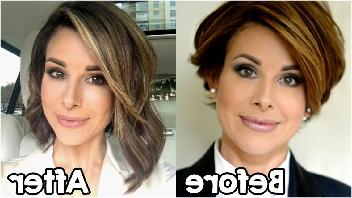 My New Hair Extensions | Short To Long Bob Medium Length Hairstyles With Extensions