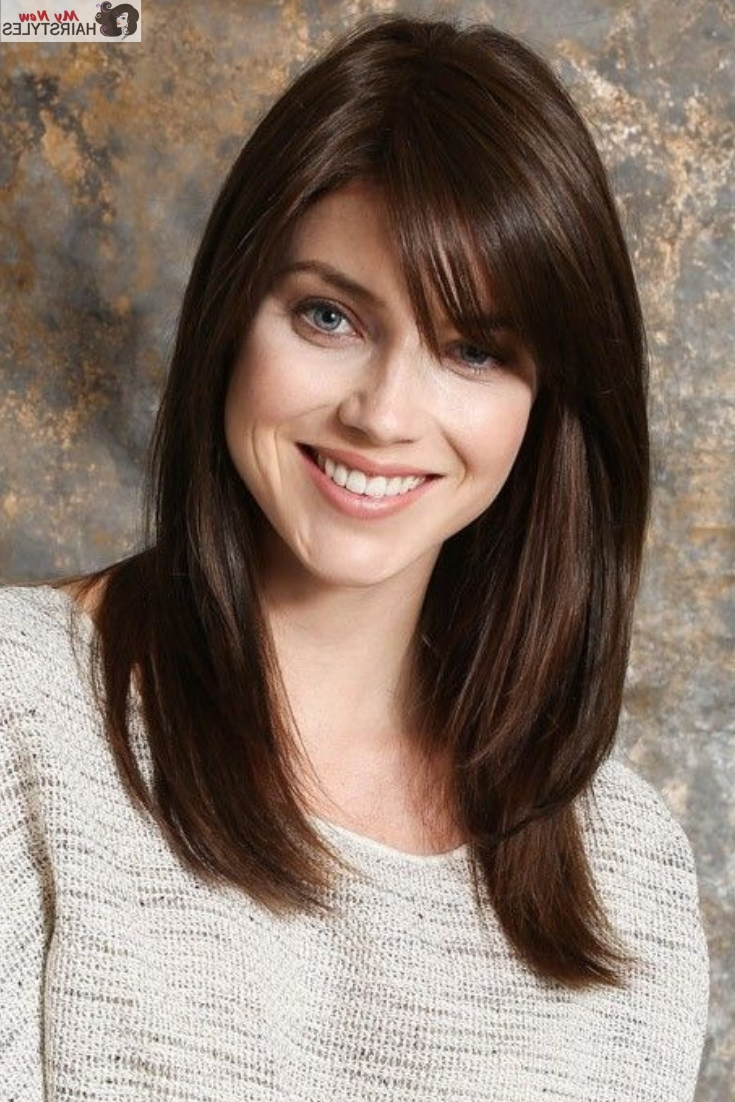 My New Hairstyles The Place For Your Ultimate Hairstyle Medium Length Hairstyles With Side Bangs 2018