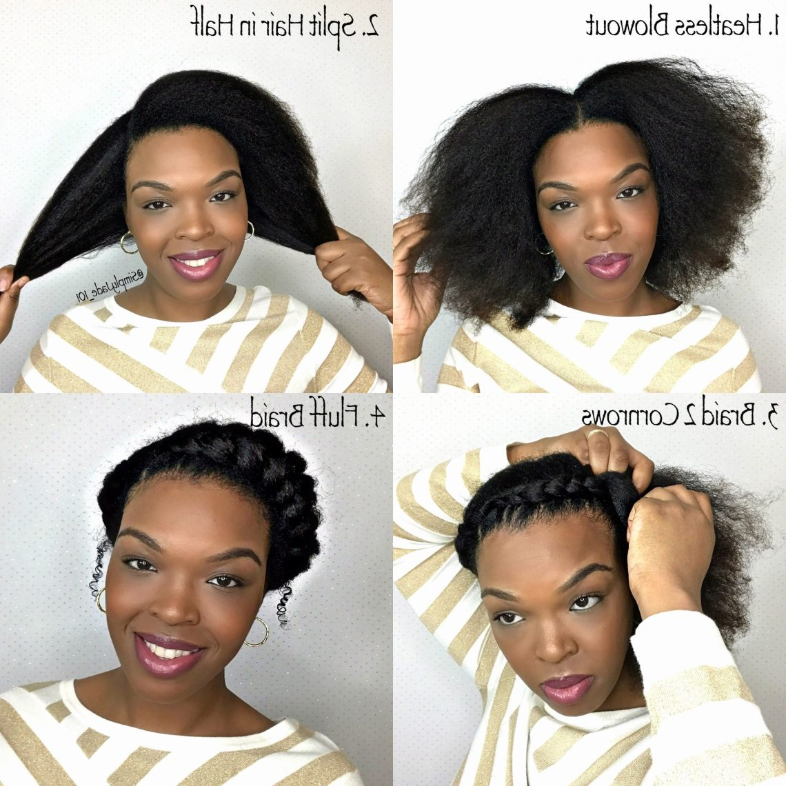 Natural Hairstyles For Medium Length 4C Hair Best Of Easy Blowout Hairstyles For Medium Length Natural Hair