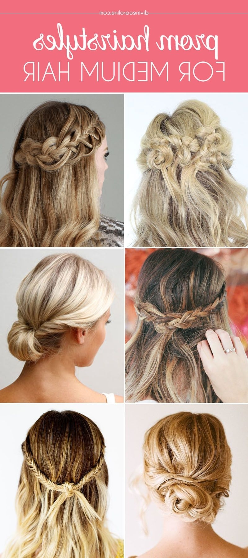 Our Favorite Prom Hairstyles For Medium Length Hair More 10+ Awesome Easy Hairstyles For Medium Length Hair For Prom