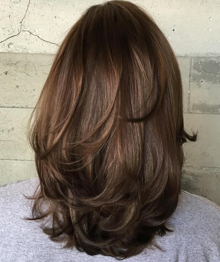 Pin On Beauty Layered Thick Hair Medium Length Hairstyles