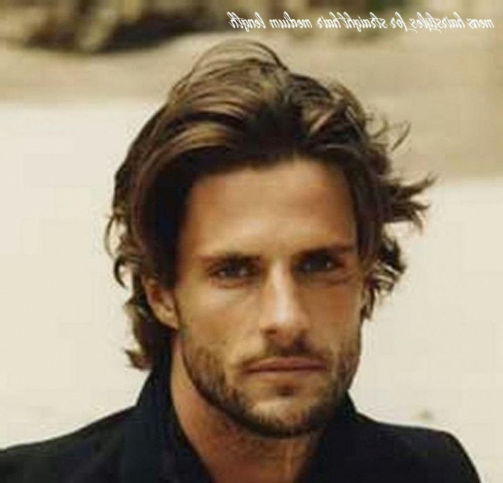 Pin On Hairstyle 2020 40+ Adorable Mens Medium Hairstyles For Straight Hair