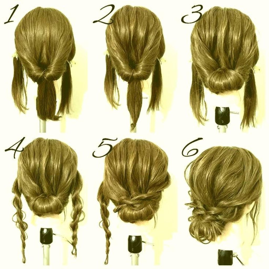 Pin On Kiss & Makeup Easy Prom Hairstyle For Medium Long Hair