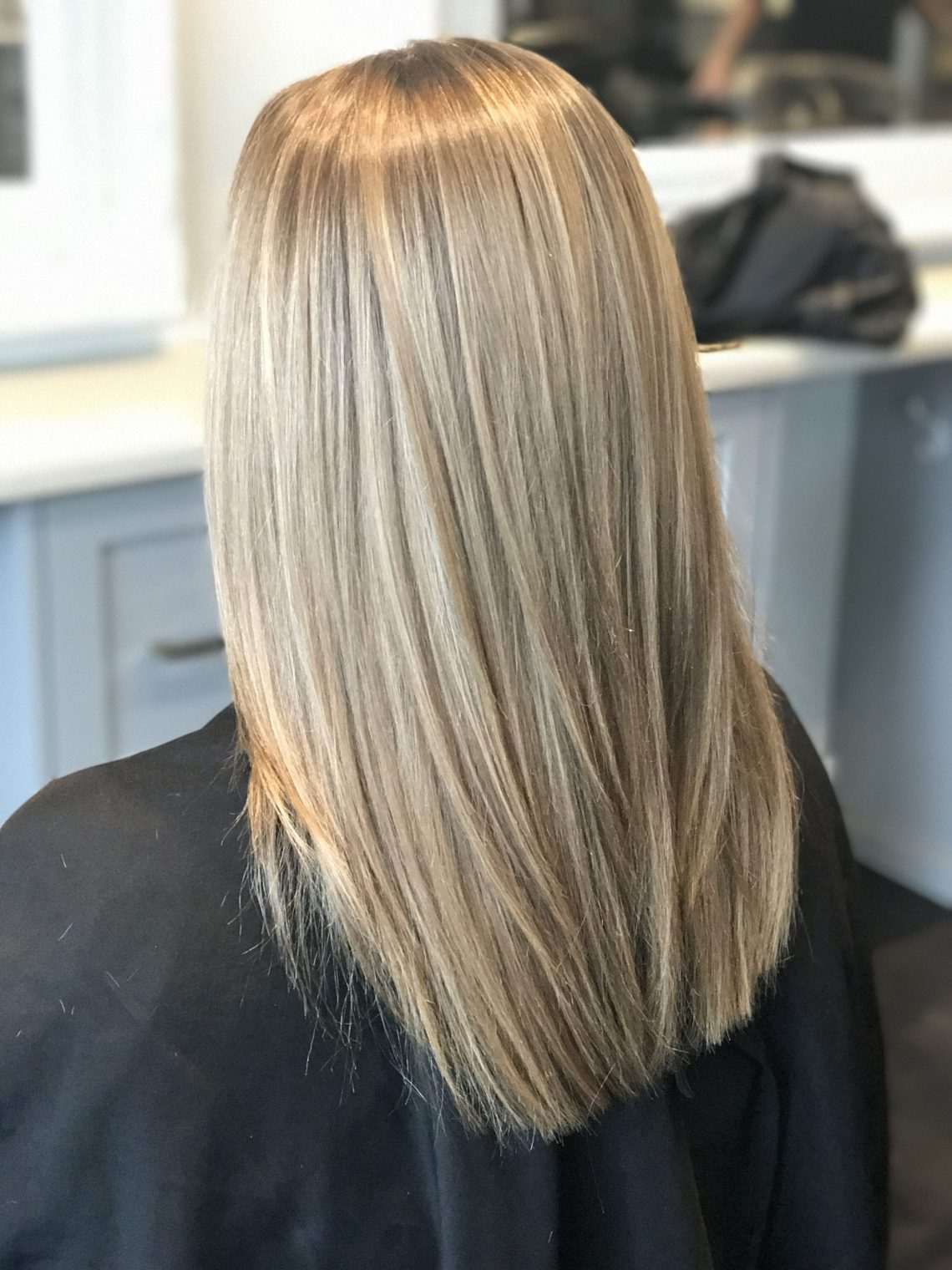 Pin On Luscious Locks Medium Length Blonde Hairstyles Straight