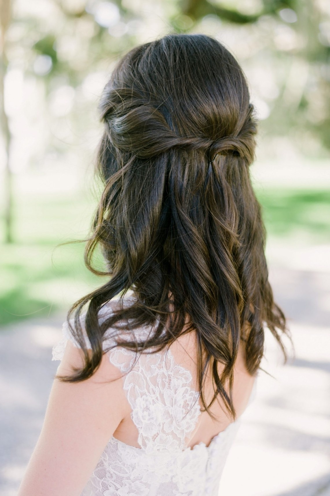 Simple Wedding Hairstyles That Prove Less Is More | Martha Diy Wedding Hairstyles For Medium Hair