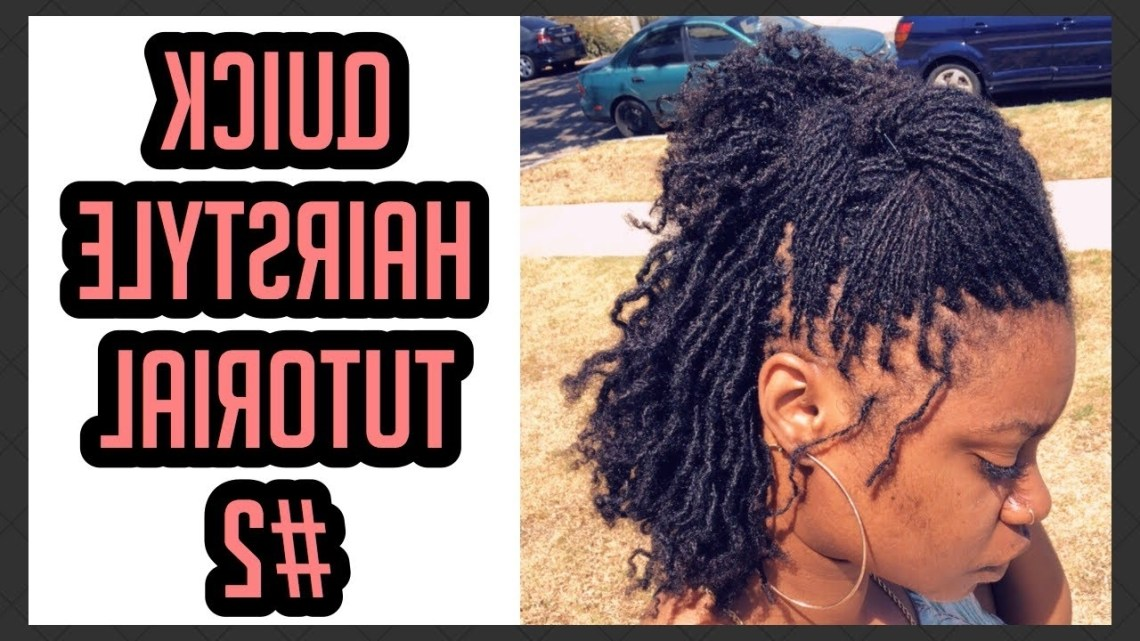 Sisterlocks Quick Hairstyle Tutorial #2 *Highly Requested* | Drknlvely 30+ Stunning Hairstyles For Medium Length Sisterlocks