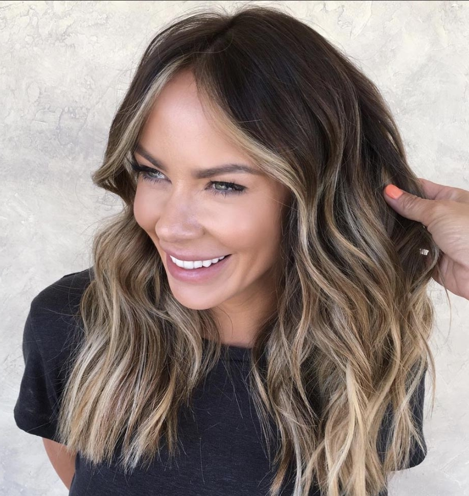The Most Flattering Medium Length Brown Hairstyles To Try In 20+ Stylish 2020 Hairstyles For Medium Length