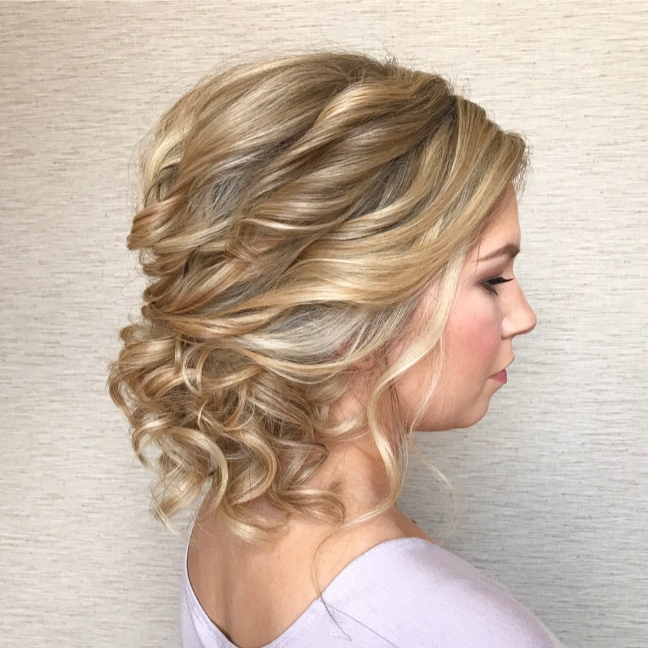 Updos For Medium Hair, Easy Hairdos For Medium Hair (2018) 40+ Stylish Formal Hairstyles For Medium Length Hair