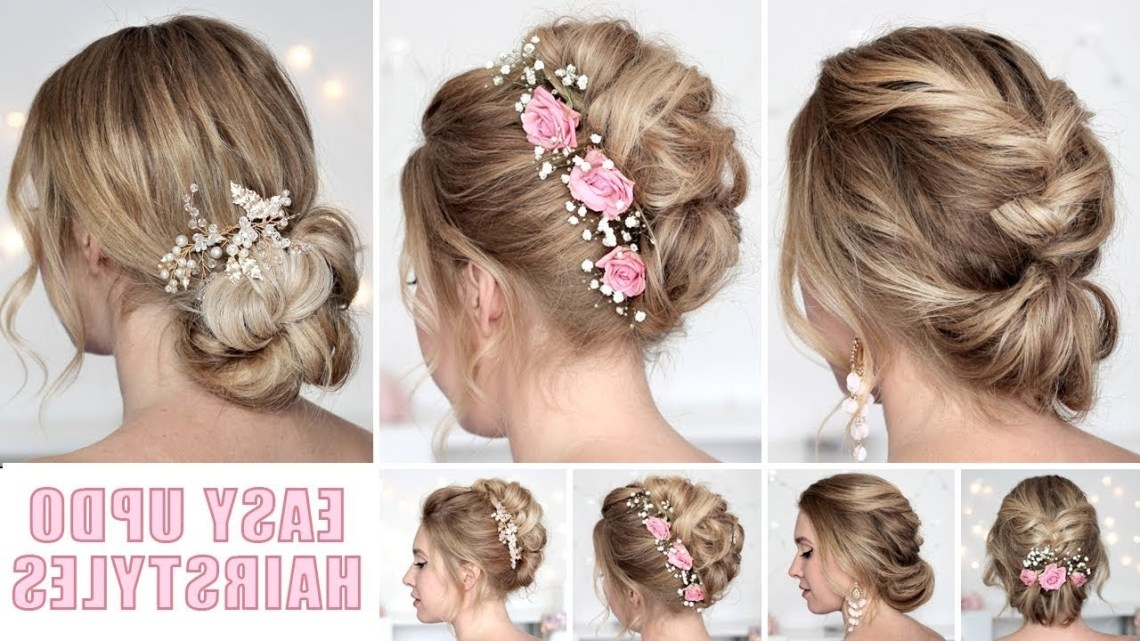Wedding Hairstyles For Medium/Long Hair Tutorial ❤ Quick And Easy Updos 10+ Awesome Bridesmaid Hairstyles For Medium Hair
