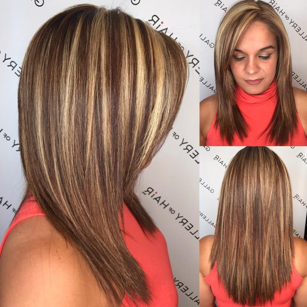 Wsi Imageoptim Layered Cut With Textured Ends And Bold Highlighted Medium Length Hairstyles