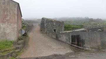 Corvo poble abandonat
