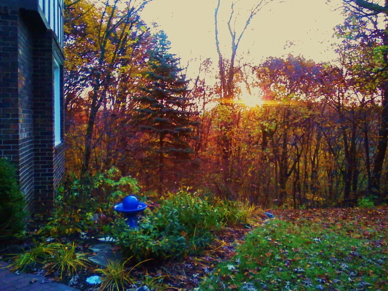 October Sunrise!