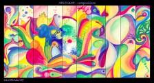 Arlequin composition