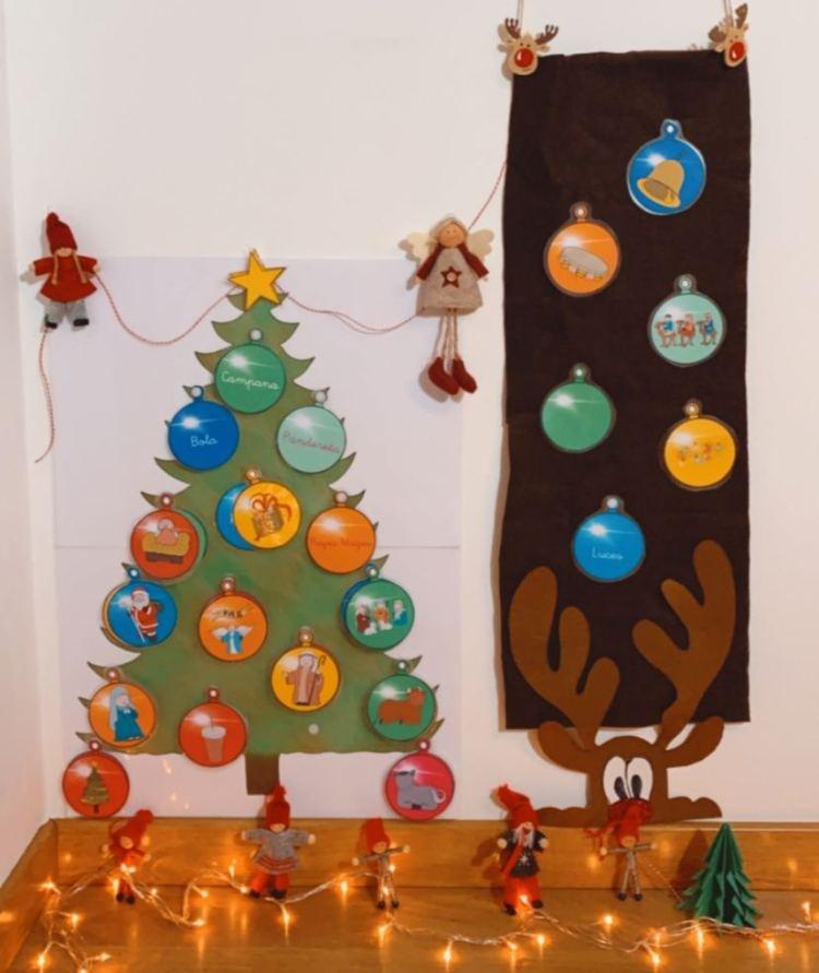Material de la Navidad
