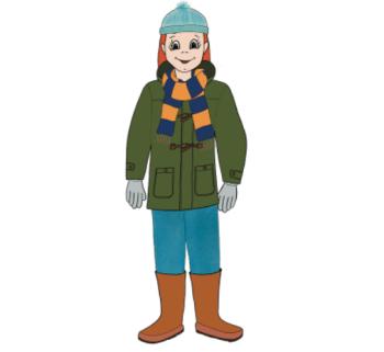 El invierno y las prendas de vestir