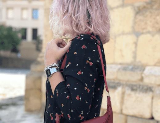 Vestido cuqui + riñonera