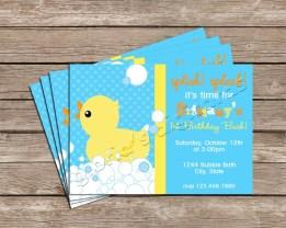 Ducky Splish Splash Layout