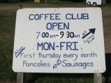 Coffee Club and Pancake Breakfast at the curling club