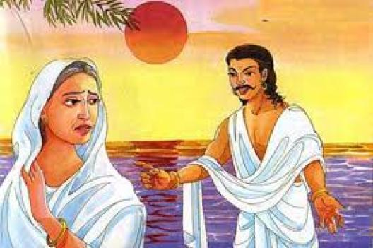 Karna rejects Kunti