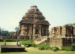 Konark Sun Temple, Orissa