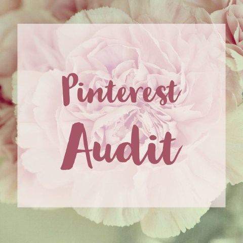 Want to up your Pinterest game? Let me analyze your Pinterest account including your pins, profile, blog, and pinning behavior, and I will provide an evaluation and recommendations to start expanding your influence on Pinterest. Click here to get yours.