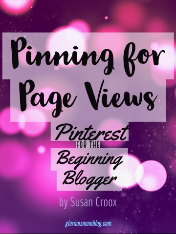 Pinning for Page Views: Pinterest for the Beginning Blogger Pinterest is the greatest source for web referrals for your blog, but if you're just starting out as a blogger, it can be hard to know where to begin! This eBook shares the basics of Pinterest in detail, provides regular recaps with simple assignments, and also shares Pinterest secrets, all to help you grow your influence through Pinterest.