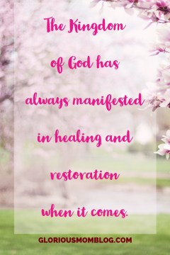Praying for your miracle: if you're waiting for breakthrough for healing for yourself or a loved one, this post will encourage you. Healing quotes, healing scriptures, prayers for healing. Read it at gloriousmomblog.com.