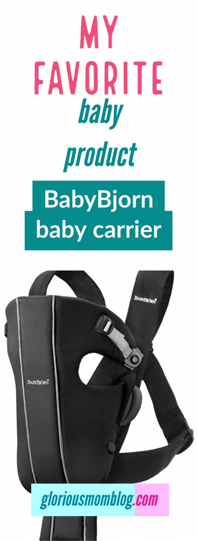 The best baby product ever! The best baby carrier is the BabyBjorn baby carrier!