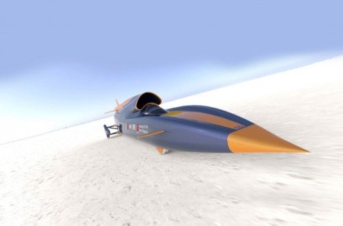 The Bloodhound SSC Sets Its Sights on 1,000 MPH