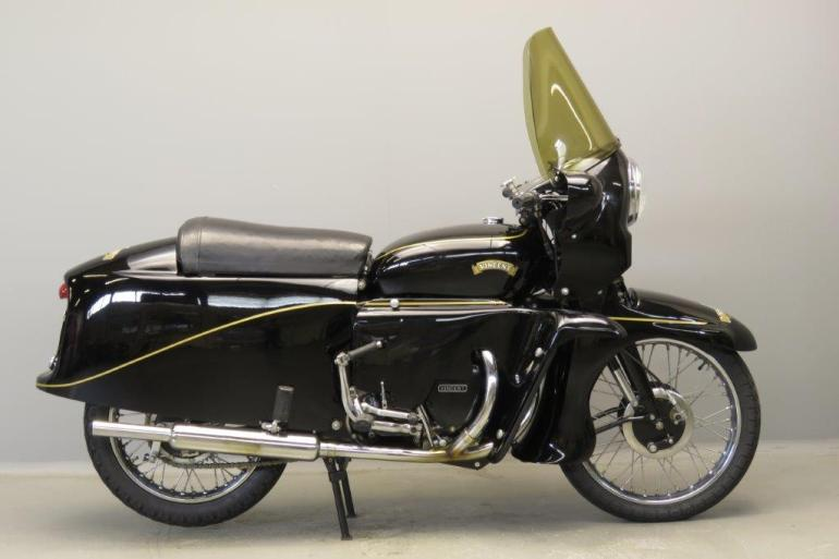 1955 Vincent Black Knight For Sale - GLORIOUS MOTORCYCLES
