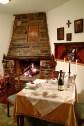 Glorious Peleys Castle Hotel Fireplace Dinner