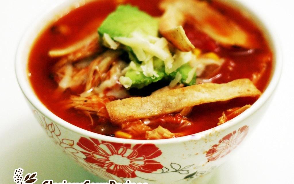 Turkey Tortilla Soup Recipe