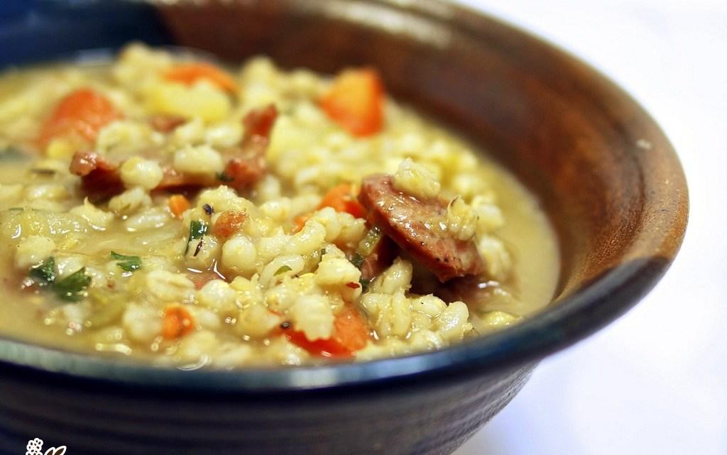How To Make Sausage Barley Soup