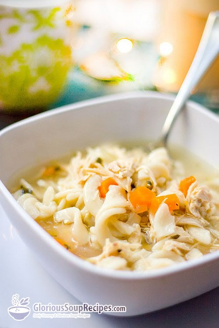 Recipe For Creamy Chicken Noodle Soup