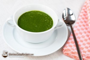 How To Make Spinach and Buttermilk Soup