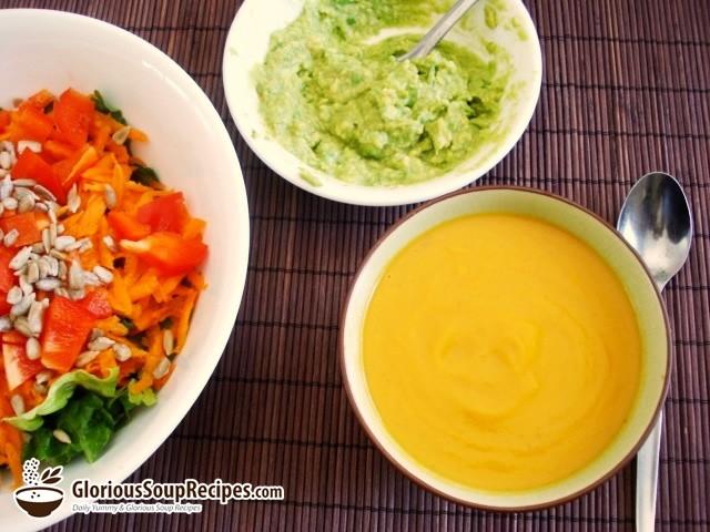 Recipe For Peppery Sweet Potato Soup