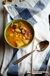 Recipe For Whole Yellow Pea Soup