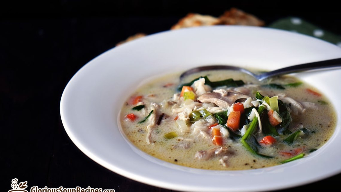 Recipe For Wild Rice Cheese Soup