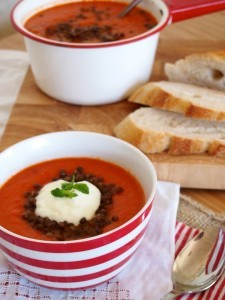 Tomato Red Pepper Soup Recipe