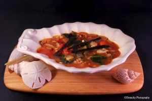 Clam with Tomato and Rice Soup Recipe