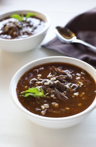 Recipe For Melanie's Beef Barley Soup