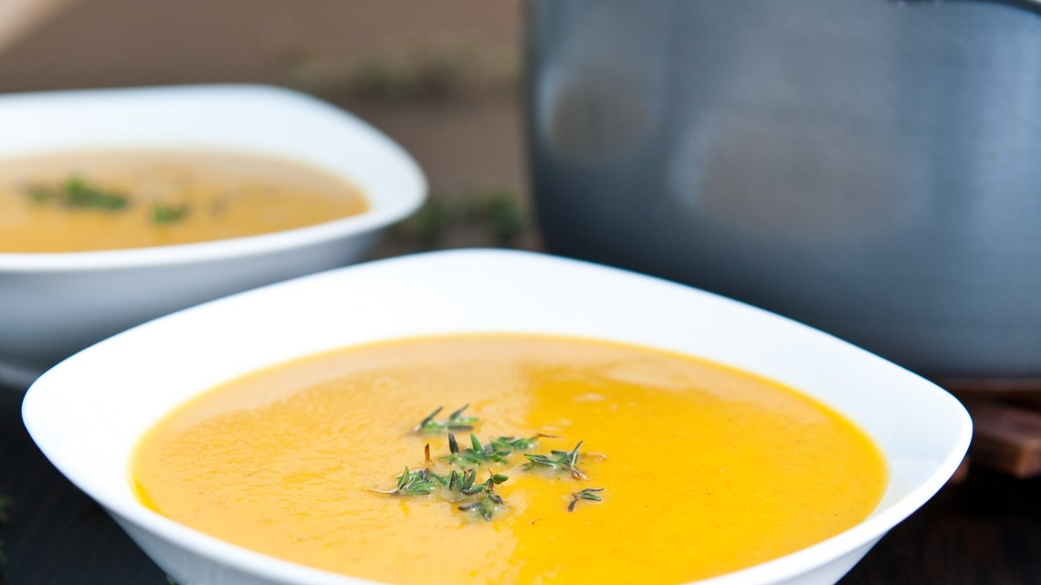 how to make butternut squash souop
