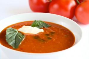 Recipe For Tomato Spinach and Basil Soup