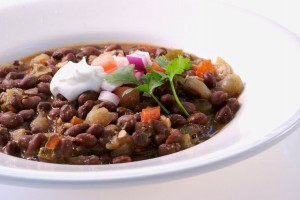 Recipe For Black Bean and Salsa Soup